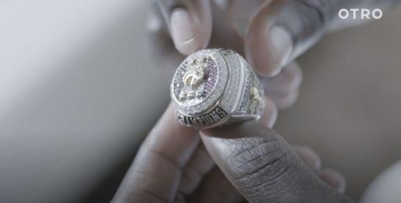 De ring voor Mendy.