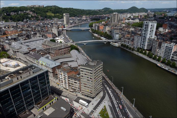 La Meuse à Liège, archive d'illustration