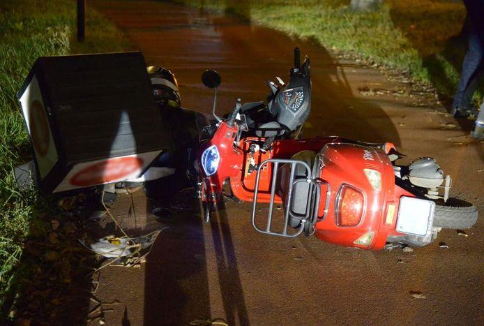 Ongeluk tussen twee scooters op Emerparklaan in Breda.