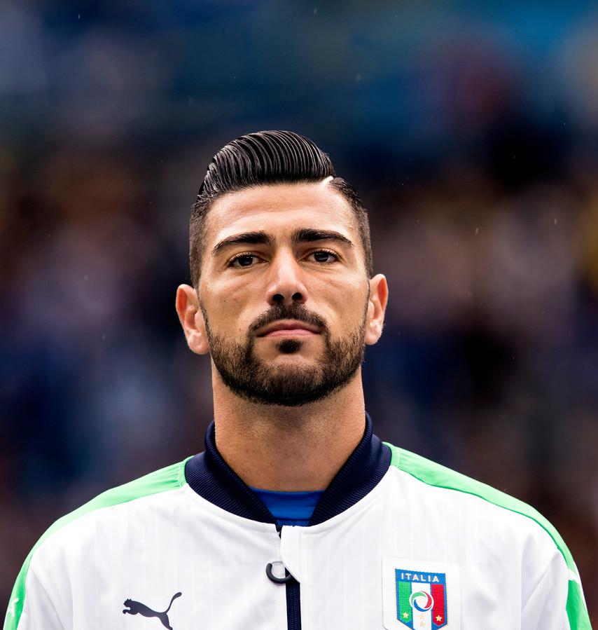Graziano Pellè tijdens het EK 2016.