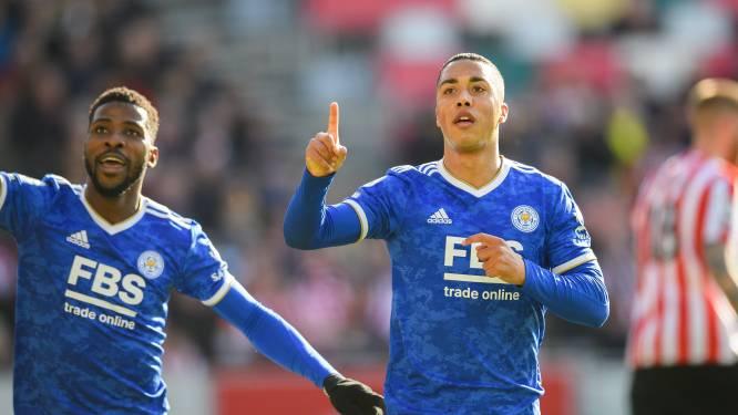Encore un superbe but pour Youri Tielemans, Leicester confirme à Brentford