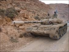 100 chars saisis en Libye chez une milice pro-Kadhafi