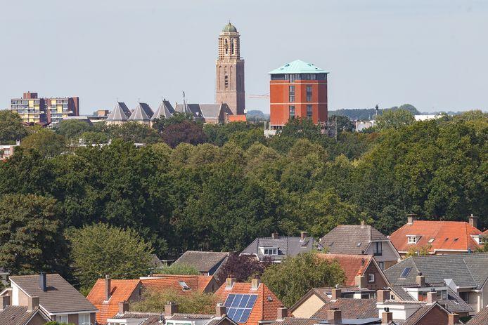 Zwolle voert de Peperbusnorm in. Er mag niet hoger dan 70 meter worden gebouwd in de stad.