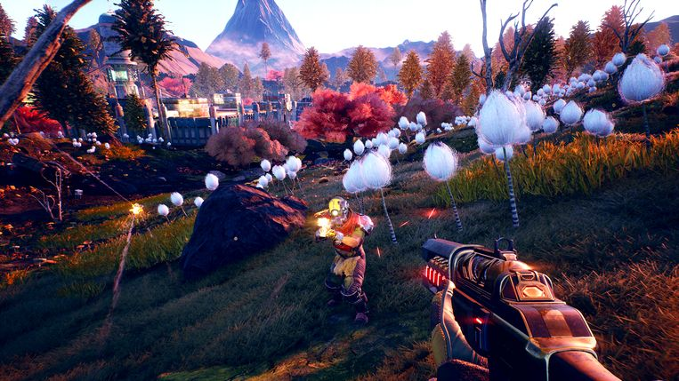 Screenshot uit The Outer Worlds Beeld Private Division