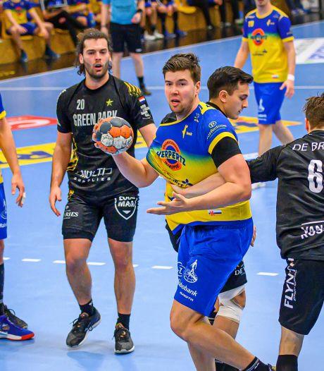 Eindelijk! Voor het eerst in 169 dagen spelen de Millse handballers De Kuyper en Jordens weer om de punten