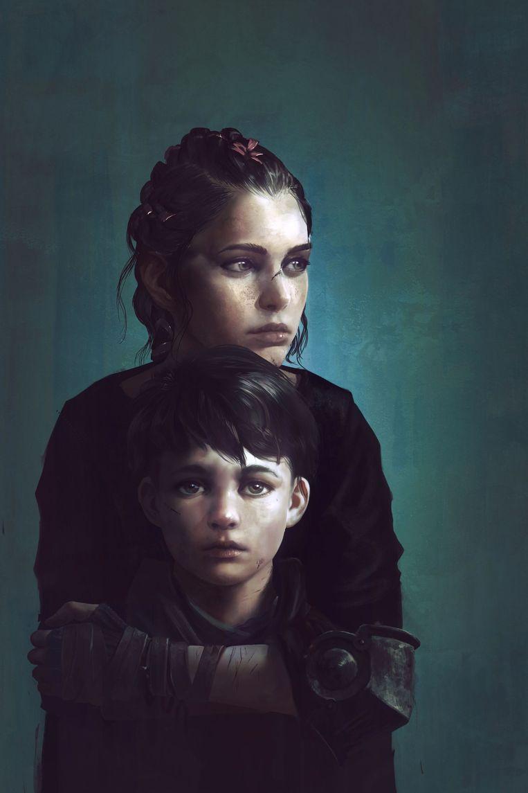 A Plague Tale: Innocence gaat over een vijftienjarig meisje en haar vijfjarig broertje.  Beeld rv
