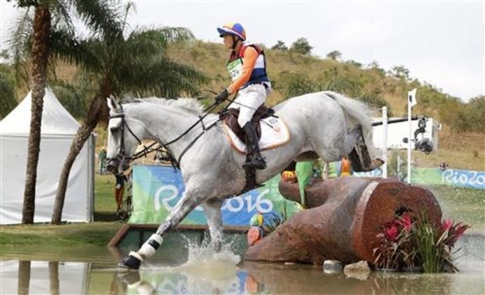 Tim Lips in actie tijdens de Olympische Spelen van vorig jaar in Rio de Janeiro.