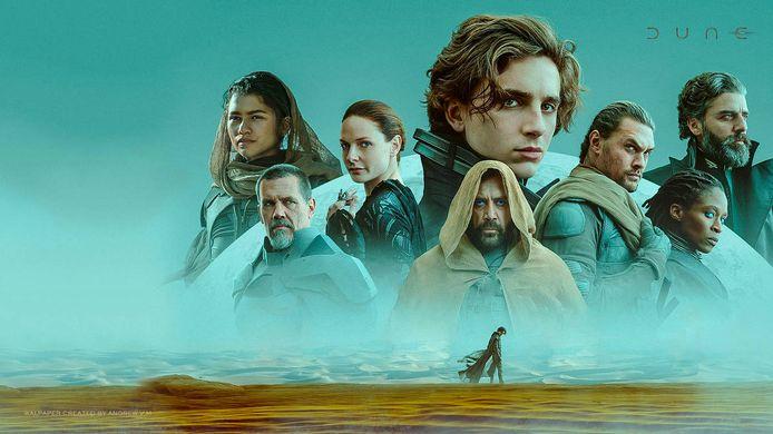 Timothée Chalamet leidt de sterrencast van Dune.