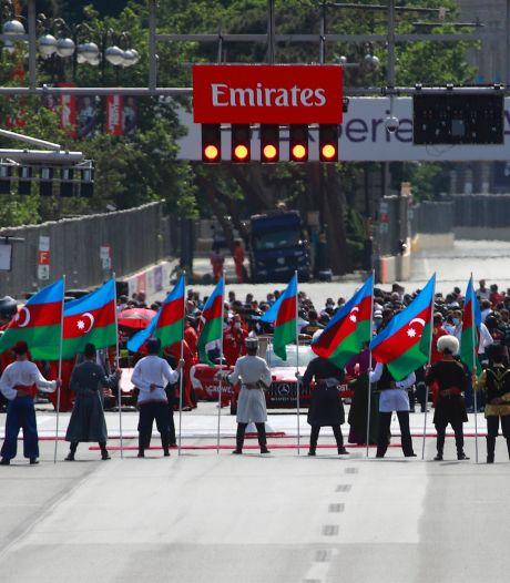 Formule 1 in Bakoe minuut stil voor overleden kopstuk McLaren