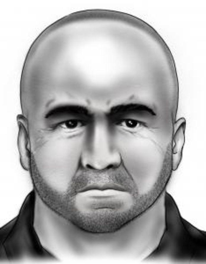 L'homme mesure environ 1m80. Il est chauve et a une barbe. Lors des faits, il s'est exprimé dans une langue étrangère.