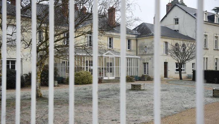 Het centrum voor deradicalisering in Pontourny in het Midden-Franse departement Indre-et-Loire. Beeld afp