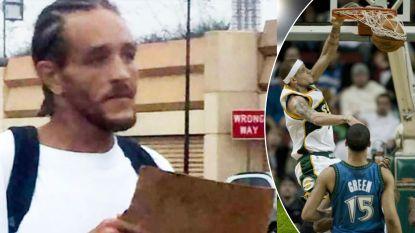 Als speler in de NBA verdiende Delonte West 20 miljoen dollar, nu bedelt hij als dakloze om geld