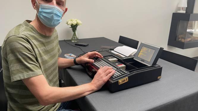 Philips 40 jaar oude laptop werkt weer, hij ging op zoek naar het verhaal erachter en dat leest als een roman
