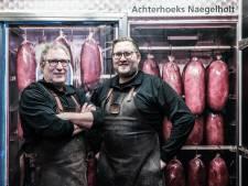 Er zijn nog maar weinig slagers die naegelholt maken, Wiljo Kuenen uit Ruurlo doet het