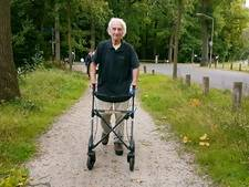 Rollatorloop in Breda: 'Waar het om gaat is een fijne dag hebben'