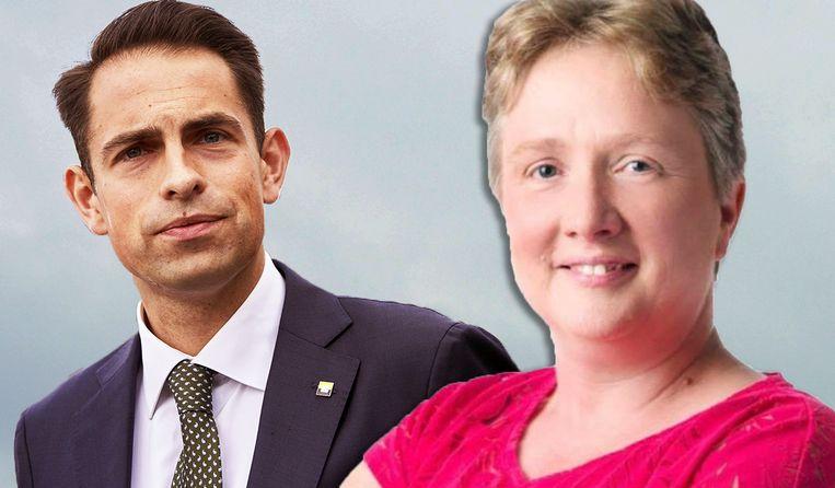 Tom Van Grieken floot Dominiek Sneppe terug over haar holebi-uitspraken.