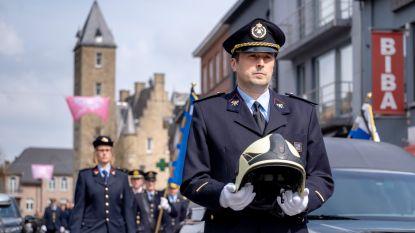 """Bornemse brandweer brengt laatste eerbetoon aan overleden collega: """"We konden altijd bij Geert terecht"""""""