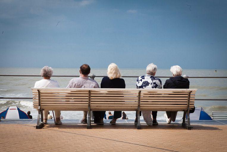 Archiefbeeld: gepensioneerden in Oostende. Beeld