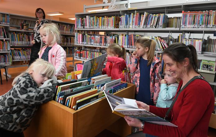 De bibliotheek in Lienden.