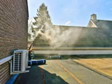 Schuurbrand in Valkenswaard door werkzaamheden aan het dak