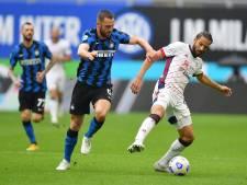 De Vrij met Inter weer stap dichter bij eerste titel sinds 2010