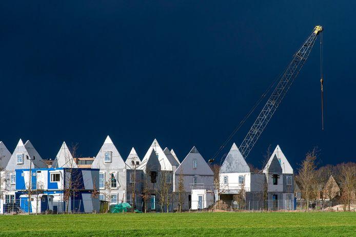 Nieuwbouw in Schuytgraaf. Archieffoto: Gerard Burgers