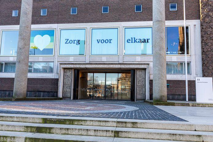Het provinciehuis in Arnhem