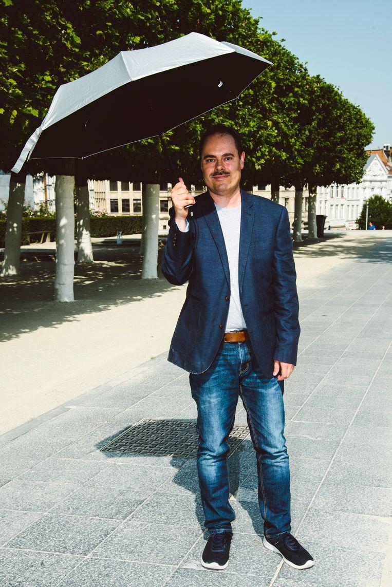 Didier Cornelis: 'Ik leerde leven met de pijn. Hoewel, leven zou ik het niet noemen.' Beeld Francis Vanhee