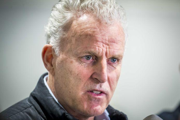 De bekende Nederlandse misdaadjournalist Peter R. de Vries.