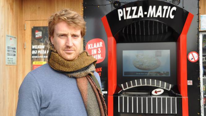 """Jonge ondernemers veroveren West-Vlaanderen met Pizza-Matic: """"We verkopen duizenden pizza's, we zitten na jaar al aan elf automaten"""""""