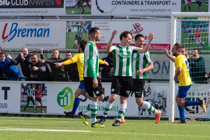 SC Genemuiden en Staphorst spelen twee keer tegen elkaar als de regionale mini-competitie op touw wordt gezet.