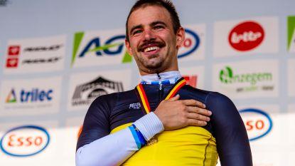 Victor Campenaerts kroont zich tot Belgisch kampioen tijdrijden