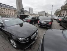 Manifestation des chauffeurs Uber jeudi matin à Bruxelles, l'application sera suspendue 2 heures