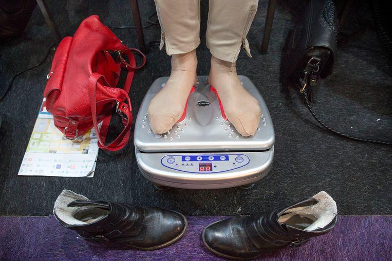Minder gewicht is een van de pijlers onder een gezonde leefstijl. Beeld Werry Crone