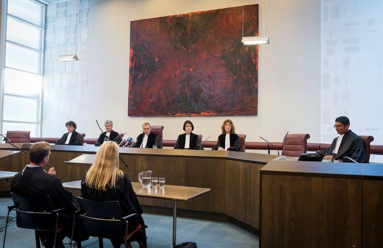 In 2014 deed de Hoge Raad uitspraak in de zaak tegen Martijn. De vereniging wordt verboden en ontbonden. Beeld ANP
