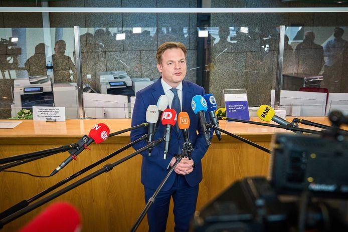 Tweede Kamerlid Pieter Omtzigt (CDA).