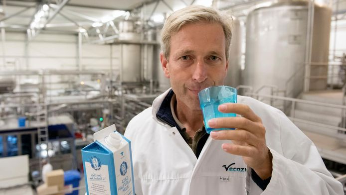 Manager Mark Kaptein van Veco Zuivel, de producent van A2.