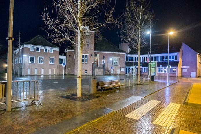 Het gemeentehuis in Mook.