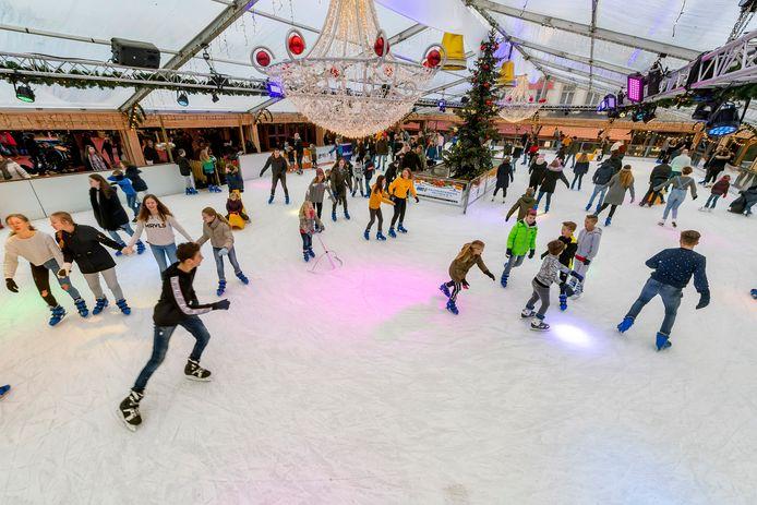 Laatste kans om te schaatsen dit weekend op de ijsbaan in Bergen op Zoom.
