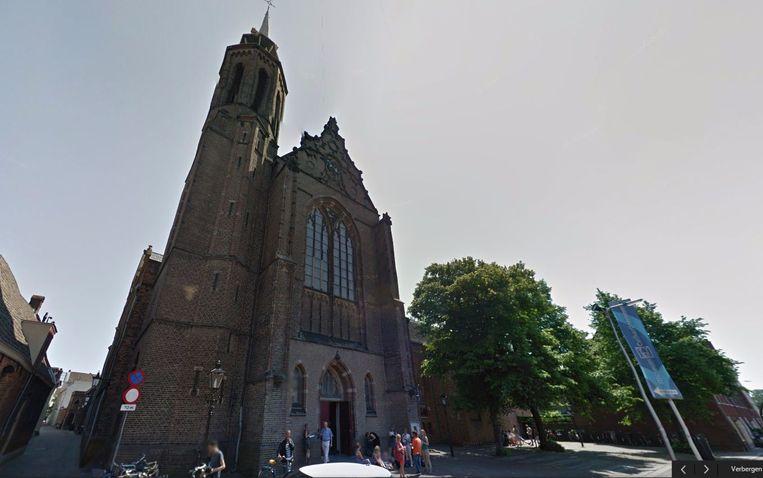 De ingang van Museum Catharijneconvent aan de  Lange Nieuwstraat in Utrecht. Beeld Google Streetview