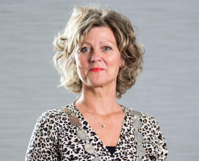 Burgemeester Ada Grootenboer.