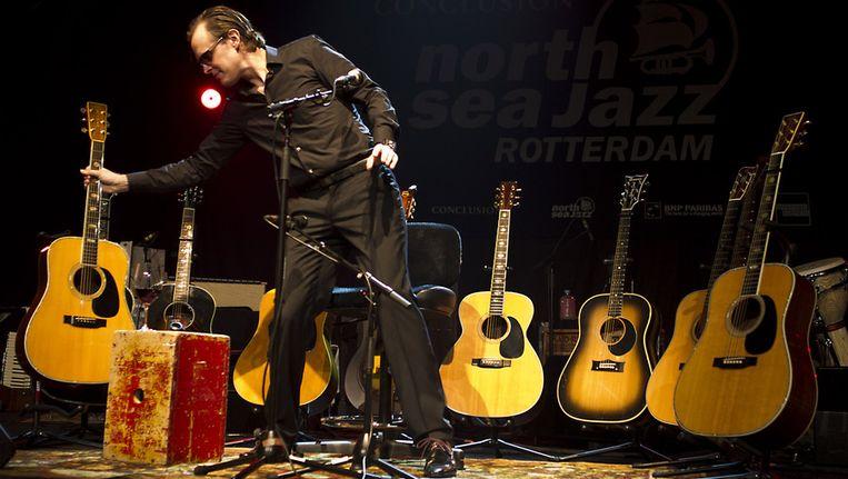 Joe Bonamassa tijdens zijn optreden op het North Sea Jazz Festival. Beeld ANP