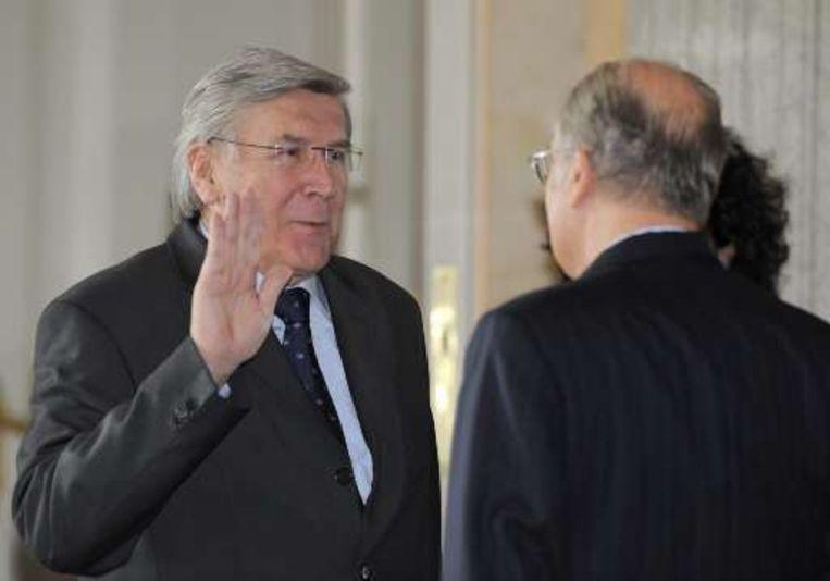 Etienne Schouppe wordt staatssecretaris van mobiliteit en dus ligt de weg naar het voorzitterschap vrij open.