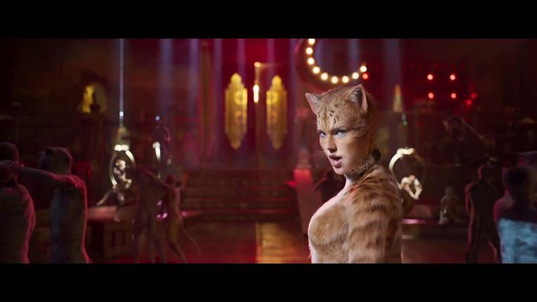 Taylor Swift in de trailer van 'Cats'