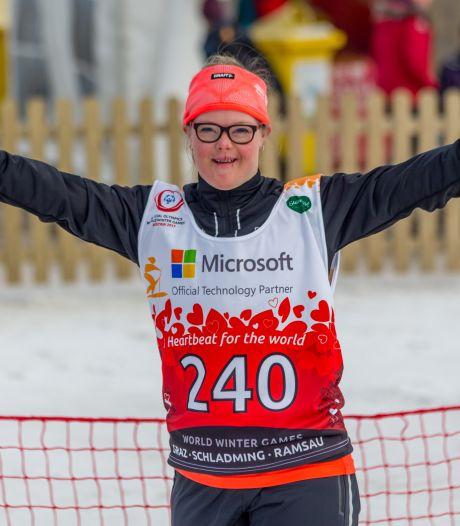 Sporters WSG Uden doen mee aan winterse Special Olympics in 2022