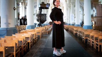 Handelaars organiseren 'hemelse modeshow' in kerk