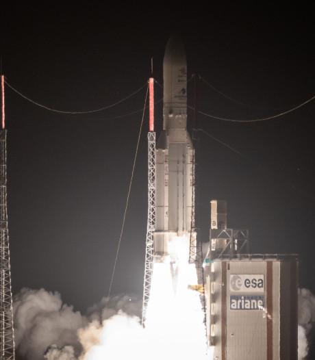 Europees-Japanse satellieten succesvol op weg naar Mercurius