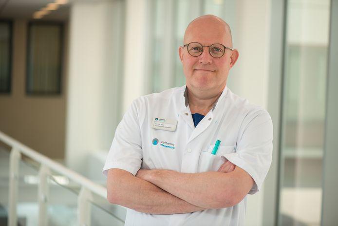 Marc Buise, anesthesioloog-intensivist van het Catharina Ziekenhuis Eindhoven.