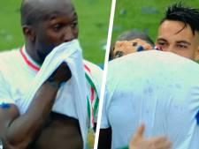 """Un dernier but et des larmes de joie pour Romelu Lukaku: """"Je ne voulais pas pleurer, mais..."""""""