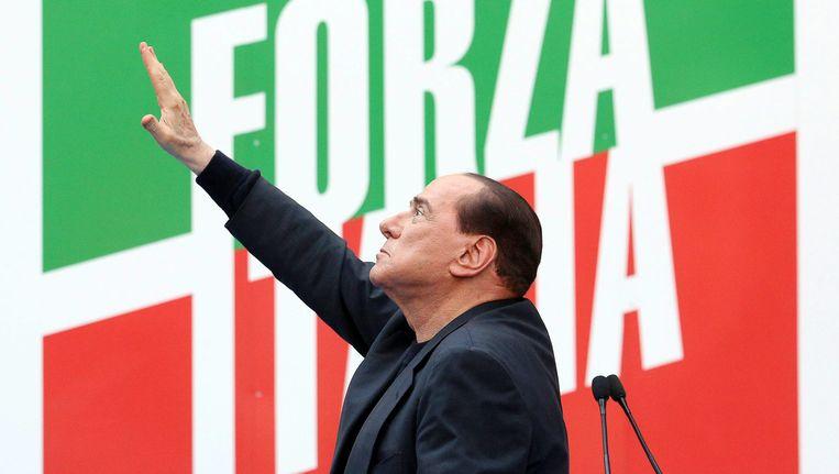Silvio Berlusconi Beeld EPA